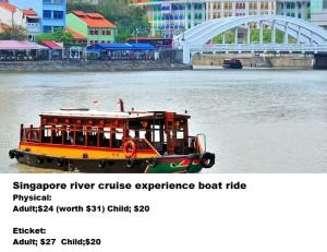 2- Singapore River cruise