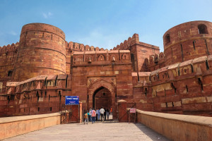 Amar Singh Gate of Agra Fort Agra Uttar Pradesh India