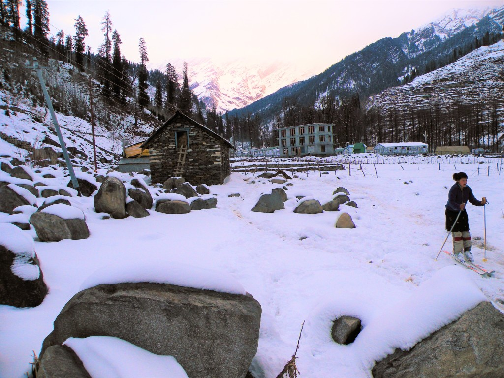Solang Snow 2